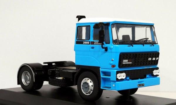Macheta auto cap tractor DAF 2800, scara 1:43 0