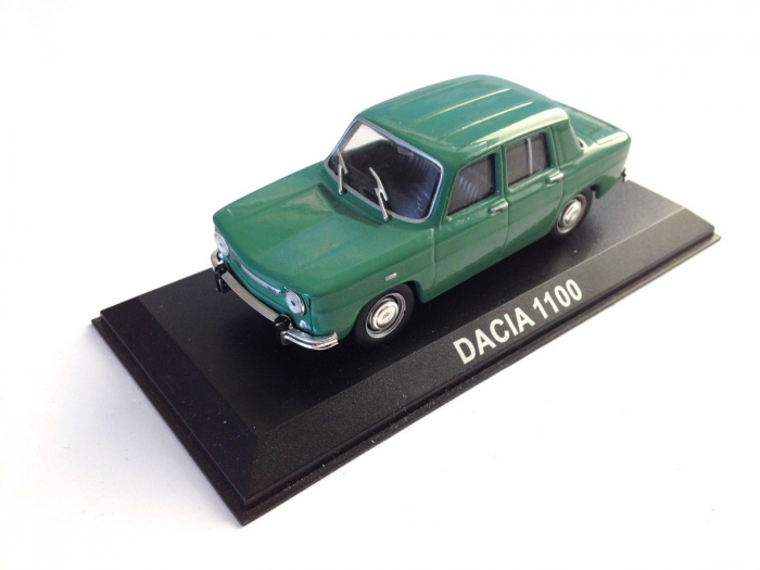 Macheta auto Dacia 1100, scara 1:43 [0]