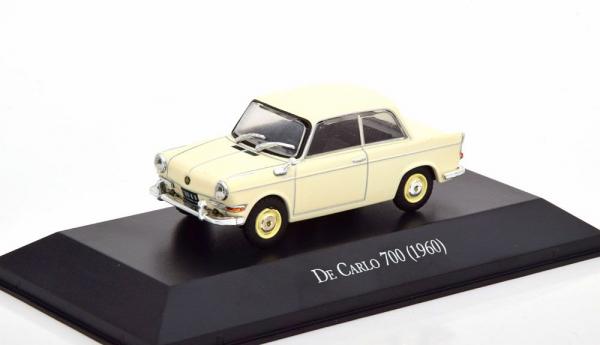Macheta auto De Carlo (BMW) 700, scara 1:43 1