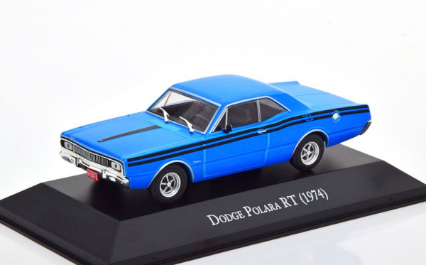 Macheta auto Dodge Polara RT 1974, scara 1:43 0