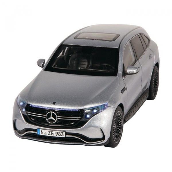 Macheta auto electrica Mercedes Benz ECQ cu lumini, scara 1:18 1