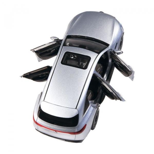 Macheta auto electrica Mercedes Benz ECQ cu lumini, scara 1:18 4