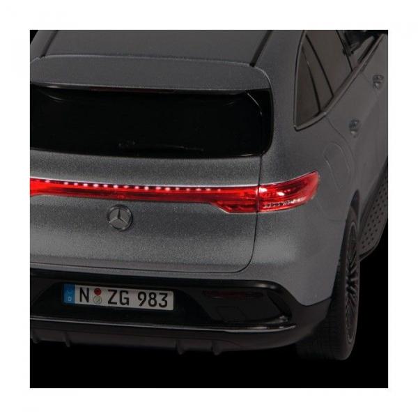 Macheta auto electrica Mercedes Benz ECQ cu lumini, scara 1:18 5