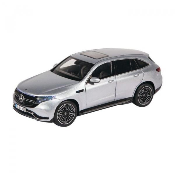 Macheta auto electrica Mercedes Benz ECQ cu lumini, scara 1:18 0