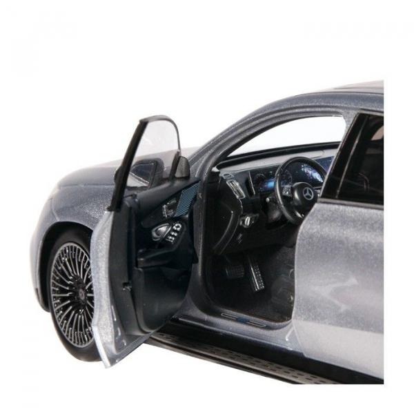 Macheta auto electrica Mercedes Benz ECQ cu lumini, scara 1:18 3