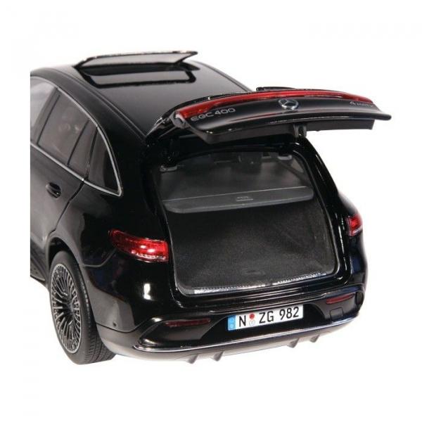 Macheta auto electrica Mercedes Benz ECQ, scara 1:18 2