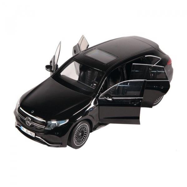 Macheta auto electrica Mercedes Benz ECQ, scara 1:18 5