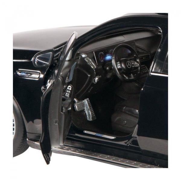 Macheta auto electrica Mercedes Benz ECQ, scara 1:18 3