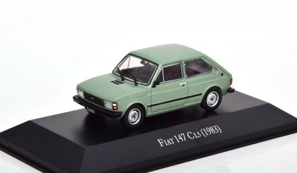 Macheta auto Fiat 147, scara 1:43 0