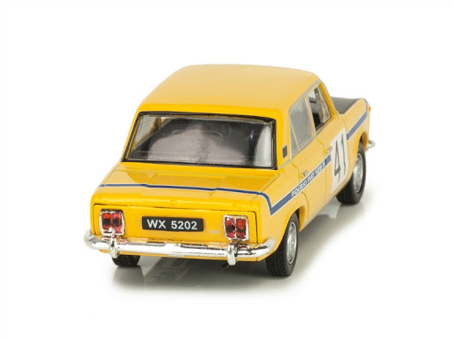 Macheta auto Fiat Polski 125P raliu, scara 1:43 [2]
