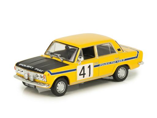 Macheta auto Fiat Polski 125P raliu, scara 1:43 [0]