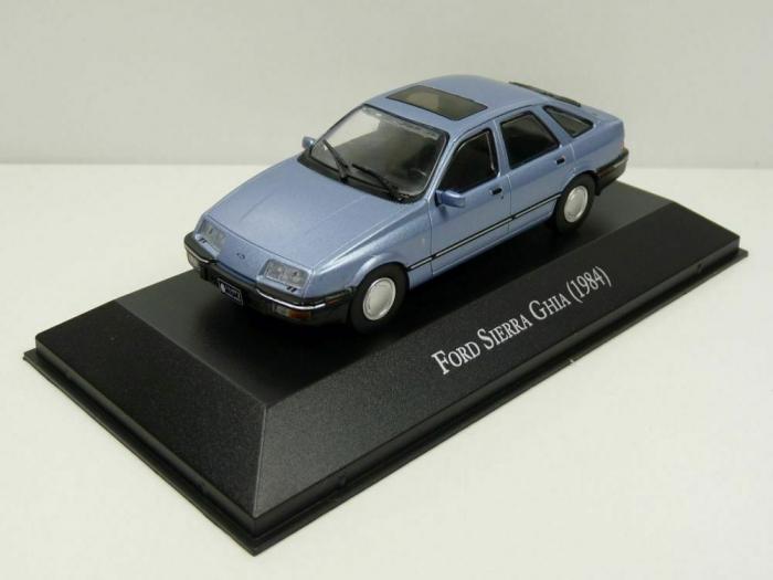 Macheta auto Ford Sierra 2.3 Ghia, scara 1:43 0