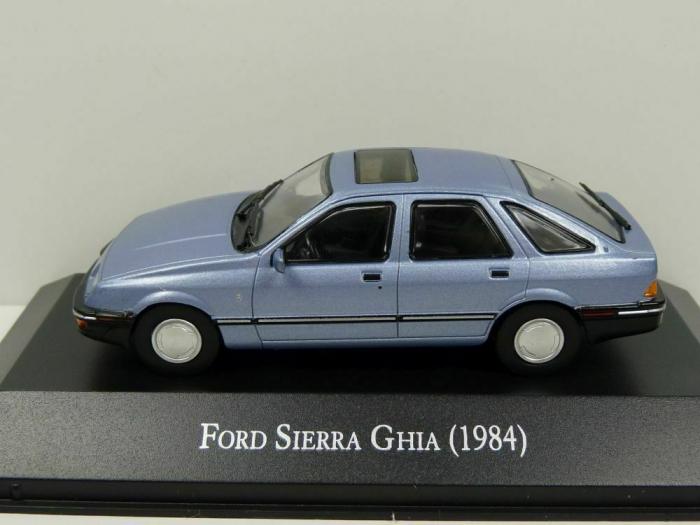 Macheta auto Ford Sierra 2.3 Ghia, scara 1:43 2