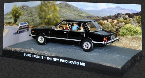 Macheta auto Ford Taunus James Bond, scara 1:43 0