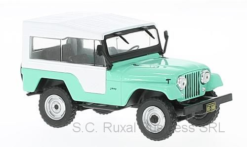 Macheta auto Jeep CJ-5, scara 1:43 0