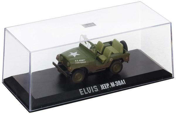 Macheta auto Jeep Willys Elvis Presley, scara 1:43 0