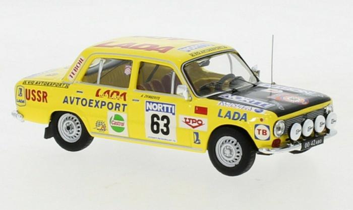Macheta auto Lada 1300, No. 63, scara 1:43 [0]