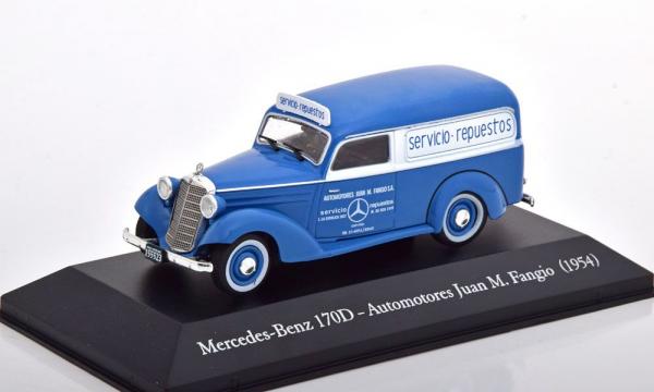 Macheta auto Mercedes 170D van 1954, scara 1:43 0