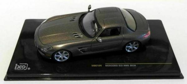 Macheta auto Mercedes SLS AMG 2010, Monza Grey, scara 1:43 [1]