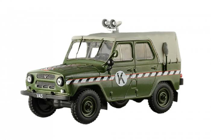 Macheta auto UAZ 469, scara 1:43 [0]