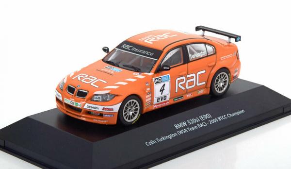 Macheta auto raliu BMW 320si (E90), scara 1:43 0