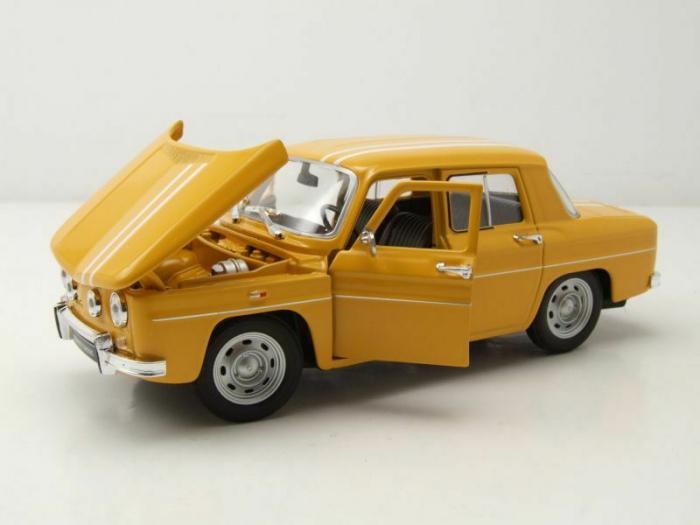 Macheta auto Renault 8 Gordini, scara 1:24 [2]
