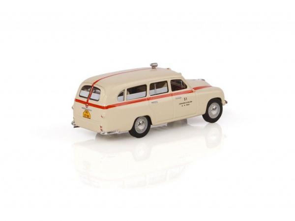 Macheta auto Skoda 1201 ambulanta 1956, scara 1:43 1