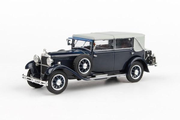 Macheta auto Skoda 860 1932 albastra, 1:43 [0]