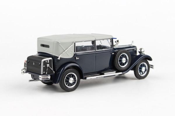 Macheta auto Skoda 860 1932 albastra, 1:43 [1]