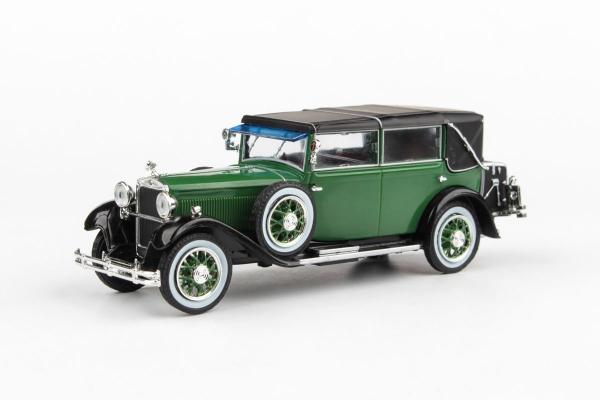 Macheta auto Skoda 860 1932 verde, 1:43 0