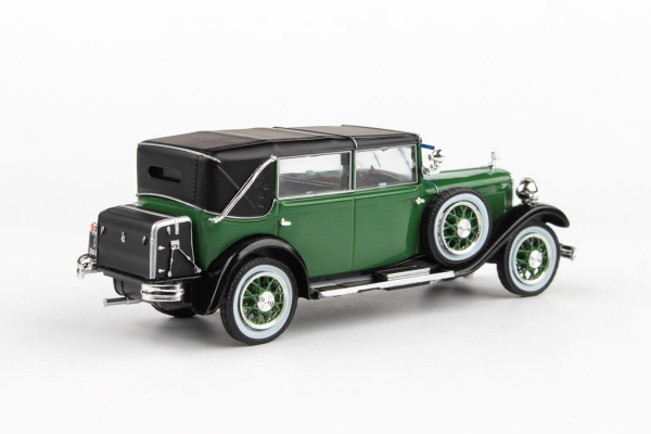 Macheta auto Skoda 860 1932 verde, 1:43 1