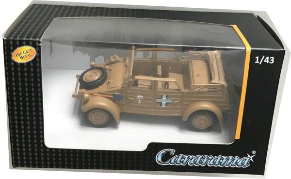 Macheta auto VW Kubel 1941 bej (desert), scara 1:43 0
