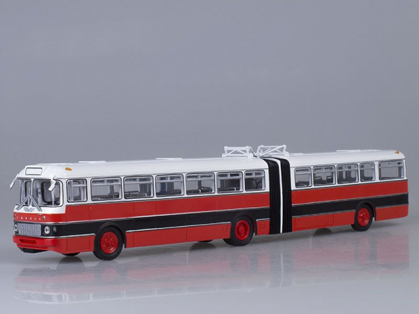 Macheta autobuz articulat Ikarus 180, scara 1:43 1