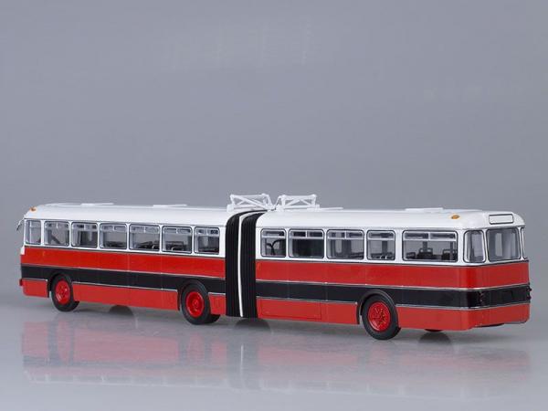 Macheta autobuz articulat Ikarus 180, scara 1:43 2