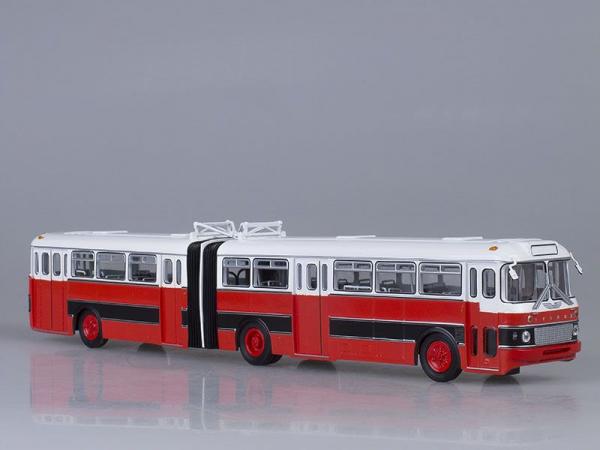 Macheta autobuz articulat Ikarus 180, scara 1:43 0