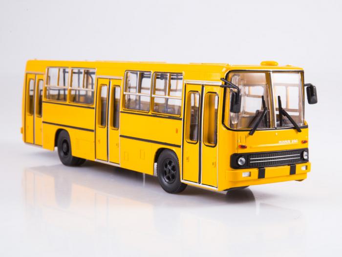 Macheta autobuz Ikarus 260 cu usi late, scara 1:43 3
