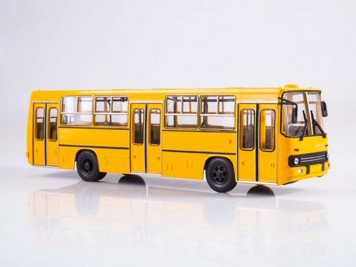 Macheta autobuz Ikarus 260 cu usi late, scara 1:43 0