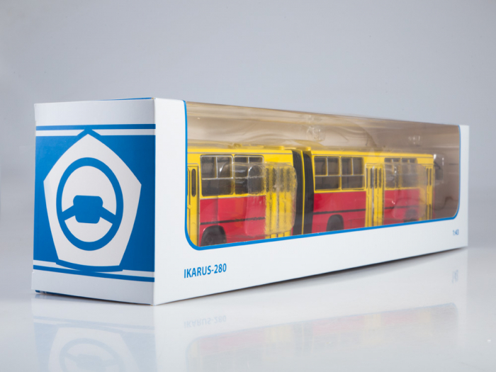 Macheta autobuz Ikarus 280, scara 1:43 [9]