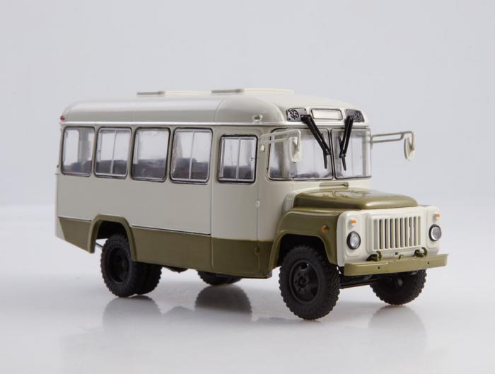 Macheta autobuz KAVZ-3270 cu revista, scara 1:43 [3]