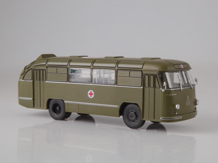 Macheta autobuz LAZ 695-B ambulanta militara, scara 1:43 0