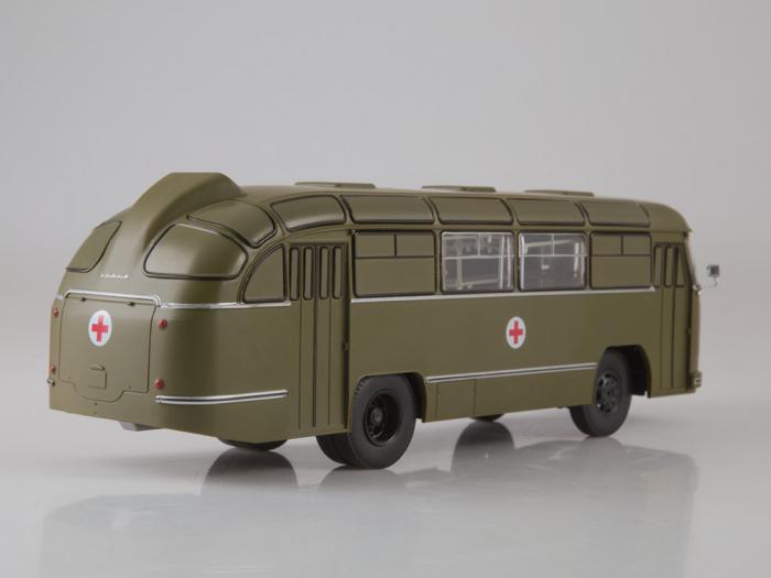 Macheta autobuz LAZ 695-B ambulanta militara, scara 1:43 1