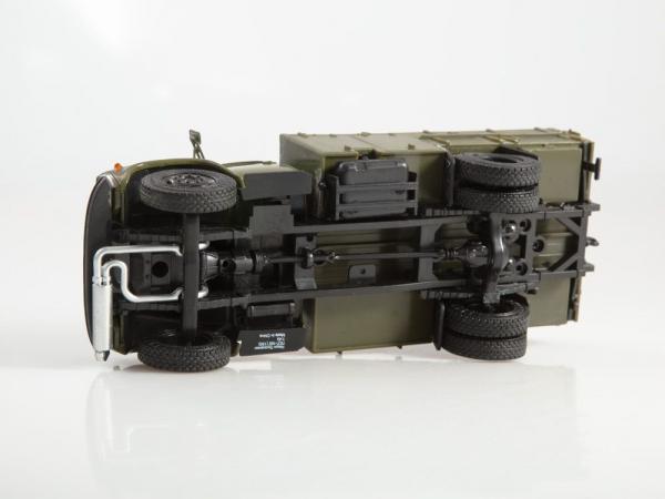 Macheta autopompa de combustibil pentru avioane PSG-160, scara 1:43 3