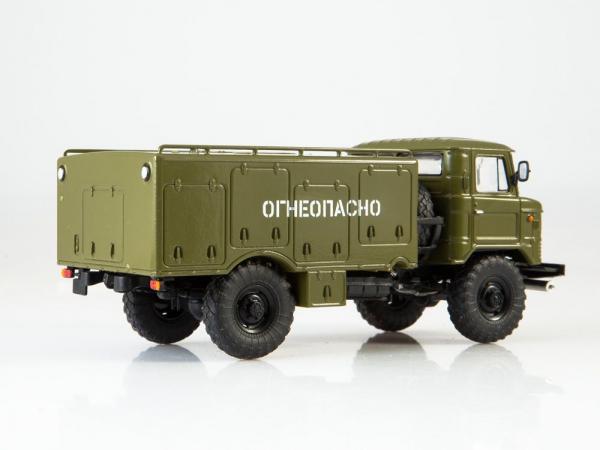 Macheta autospeciala de alimentare pentru avioane VSZ-66, scara 1:43 3