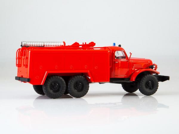 Macheta autospeciala de pompieri ZIL-157 AT-2, scara 1:43 3