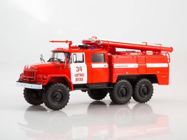 Macheta autospeciala pompieri AC-40 pe sasiu ZIL-131, scara 1:43 1