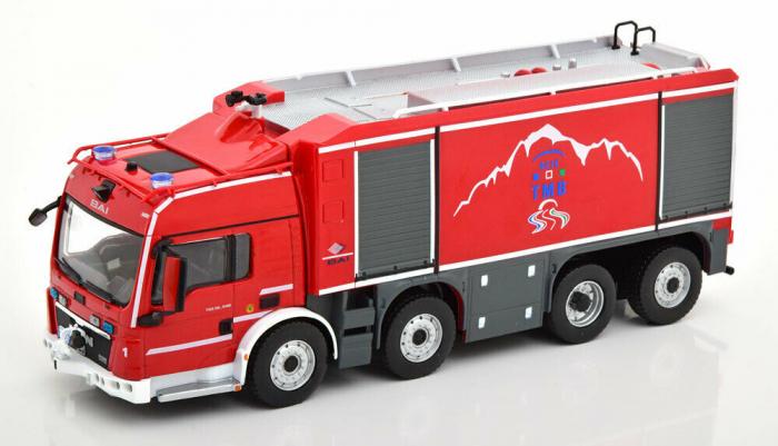 Macheta autospeciala pompieri MAN TGS BA1, scara 1:43 [0]