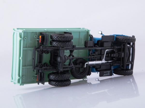 Macheta basculanta GAZ-53, scara 1:43 3