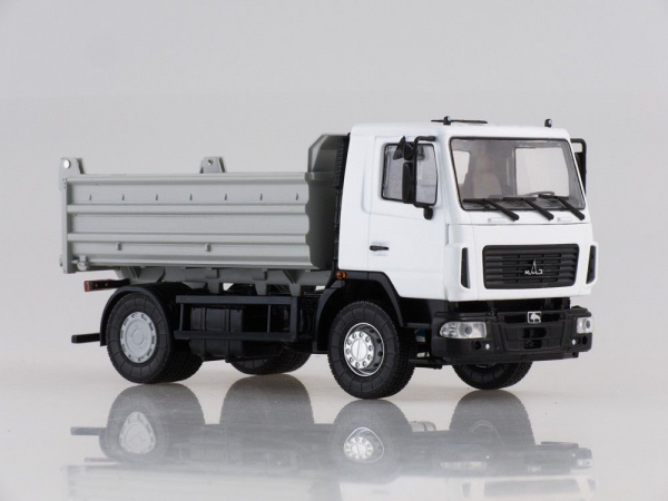 Macheta basculanta MAZ 5550 facelift, scara 1:43 1