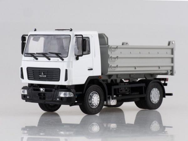 Macheta basculanta MAZ 5550 facelift, scara 1:43 0