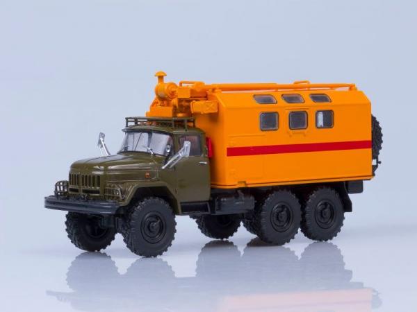 Macheta camion atelier mobil KUNG MTO-ATM (ZIL 131), scara 1:43 [0]